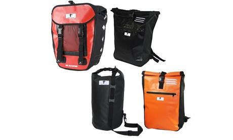 "1x oder 2x Messenger Bag, Packsack ""Dry Bag"", Pro Fahrradtasche, Kurier-Rucksack oder 3er Set Kurier"