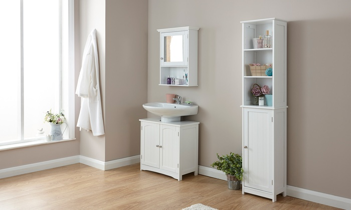 new england style bathroom cabinets. groupon goods global gmbh: new england style bathroom furniture from £16 cabinets a
