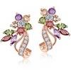 Multi-Colour Stud Earrings