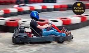 Ferrari Kart: Bateria de kart de 20 minutos com equipamento no Ferrari Kart - Autodromo Nelson Piquet