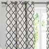 Faux Linen Heavy Triple-Layer Foamback Blackout Window Curtain Panels
