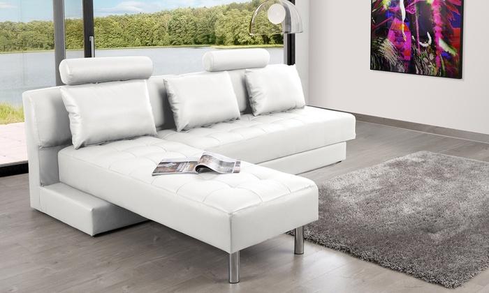 canap multifonction julia groupon shopping. Black Bedroom Furniture Sets. Home Design Ideas