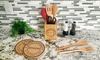 American Laser Crafts: One, Two, or Three Bundles of Personalized Kitchen Decor Items from Qualtry (Up to 62% Off)