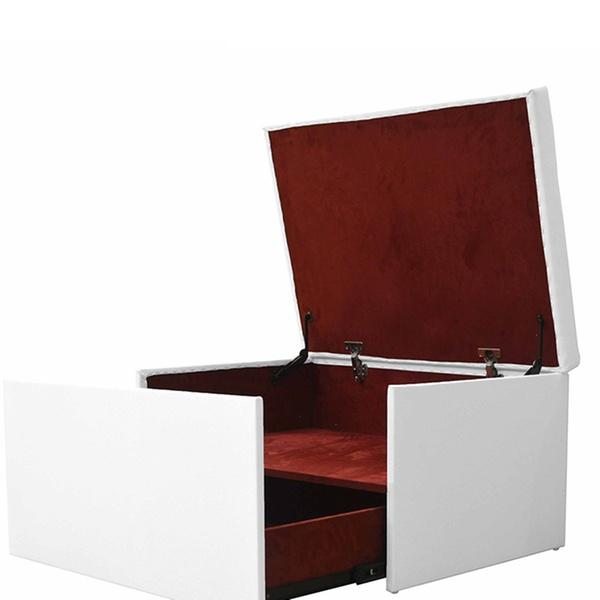 Luxe Coffre Coulissant 90€67Réduction De Tiroir 99 Avec À Similicuir Banquette tshdCrQ