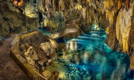 Huelva: 1 o 2 noches para 2 con copa de bienvenida y opción a desayuno, 1 cena y entradas a gruta en Hotel Era Aracena