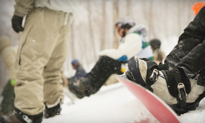 Mohan Skiing & Boarding - Snoqualmie Pass: $79 for Skiing or Boarding Lesson for Up to Four, Plus a Thermos at Mohan Skiing & Boarding (Up to $171.50 Value)