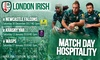London Irish - Madejski Stadium: London Irish Fixtures, 30 December - 27 January, Madejski Stadium (Up to 40% Off)