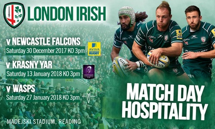 London Irish Hospitality