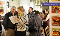 Oxford International Art Fair, Private View and Vernisage Ticket, 24 February 2017