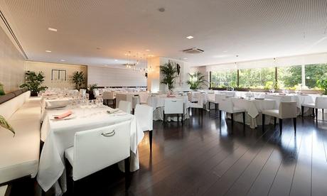 Menú para 2 o 4 personas con copa, entrantes, principales con maridaje y postres desde 59,95 € en M29