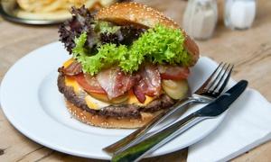 SNAP Natural Fast Food: XL-Burger-Menü inkl. Getränk und Dessert für zwei oder vier Personen bei SNAP Natural Fast Food (30% sparen*)