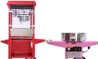Candy Floss and Popcorn Machine Self Hire or with Operator with A Team Occasion