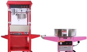 A Team Occasion: Candy Floss and Popcorn Machine Self Hire or with Operator with A Team Occasion
