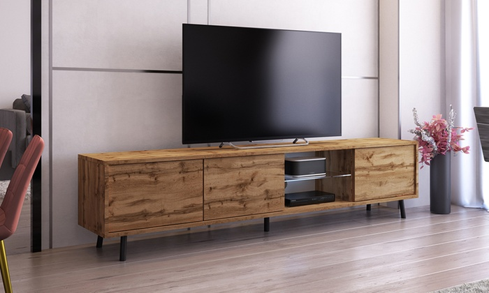 Galhand TV Cabinet with LED Lights