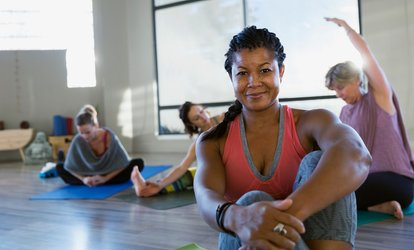 image for 2, 4, or 8 Weeks of Yoga, Barre, Circuit Training, or HIIT Classes at MOMentum Fitness Delaware (Up to 53% Off)