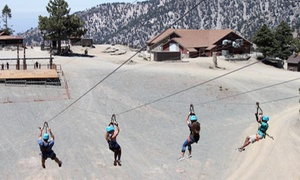 Zipline With Lift Ride For One, Two, Or Four At Mt. Baldy (up To 50% Off)