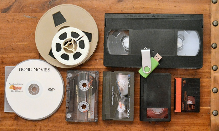 Sunrise Studios: Transfer of Three or Six Videocassettes, or $50 Worth of Movie Film to DVD from Sunrise Studios (Up to 67% Off)