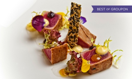 Five- or Seven-Course Tasting Menu with Bellini and Petit Fours for Two at Triple AA-Rosette Avista (Up to 68% Off)