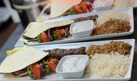 $12 for $20 Towards Food and Drinks at Basil Mediterranean Kitchen