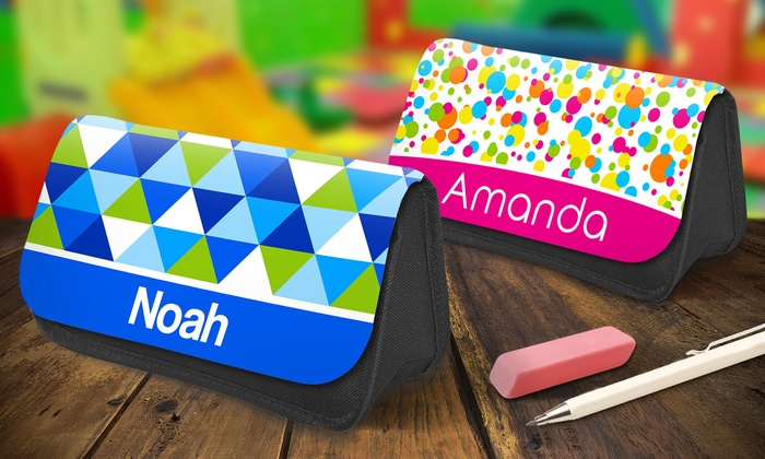 up to 65 off on personalized pencil cases groupon goods