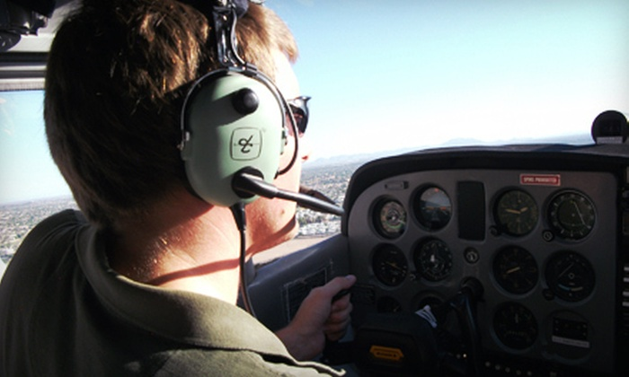 Classic Air Aviation - Mesa: $89 for an Introductory Flight Lesson at Classic Air Aviation in Mesa ($182.50 Value)