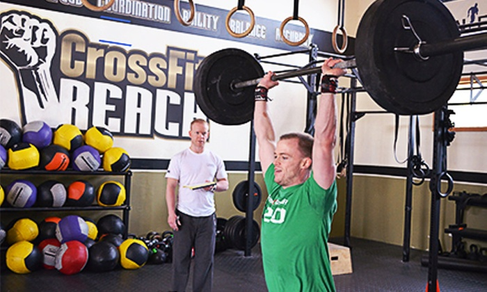 CrossFit Reach - Acton: CrossFit Classes at CrossFit Reach (Up to 80% Off). Three Options Available.