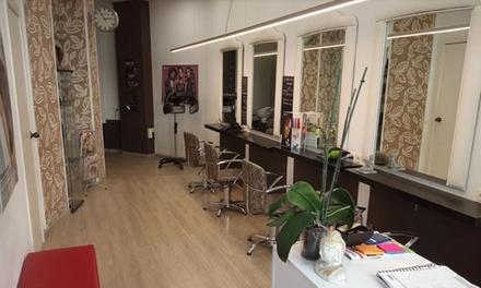 Sesión de peluquería con corte y opción a tinte y/o mechas, alisado de queratina o alisado japonés desde 14,90€ en Imaxe