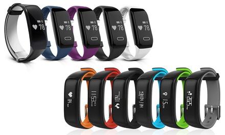 Tracker dactivité Apachie Bluetooth avec moniteur de fréquence cardiaque, et tension artérielle