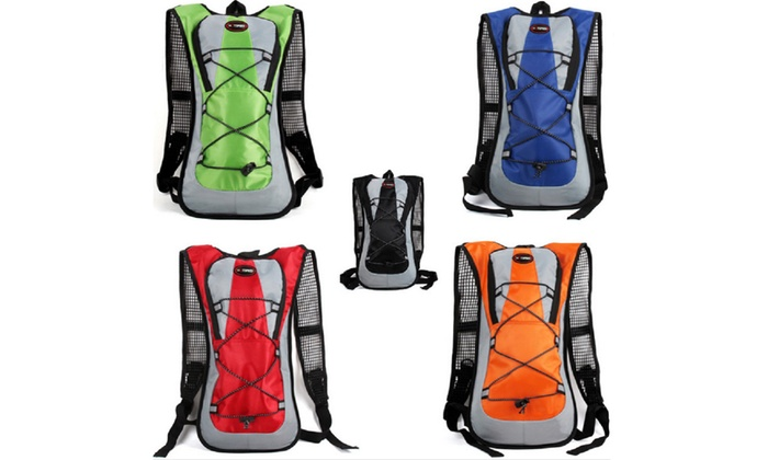 Sports Hydration Backpack With Bladder And Storage Compartment: Sports  Hydration Backpack With 2 Liter ...