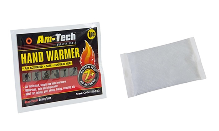 Ten Packs of Hand Warmers From £3.98