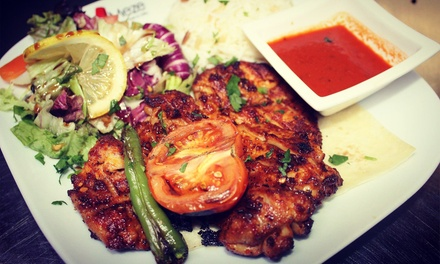 TwoCourse Turkish Meal for Two or Four at Meze Turkish Bar and Grill