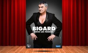 DH Management: 2 places pour Jean-Marie Bigard, le dimanche 04 février 2018 à 17h à 49 € au Parc des Expo de Charleville-Mézières