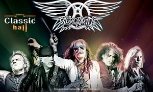 Classic Hall: Show de Aerosmith  - Classic Hall: ingresso individual para Arena ou Frontstage (área Vip) dia 21/10, às 21h