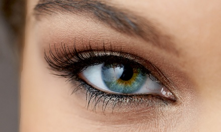 Set of Eyelashes with Optional Brow Shape or Tint, or Both at Sarah Jane's Makeup, Hair, and Beauty
