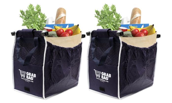 Grab Bag Shopping Bags (2-Pack) | Groupon Goods