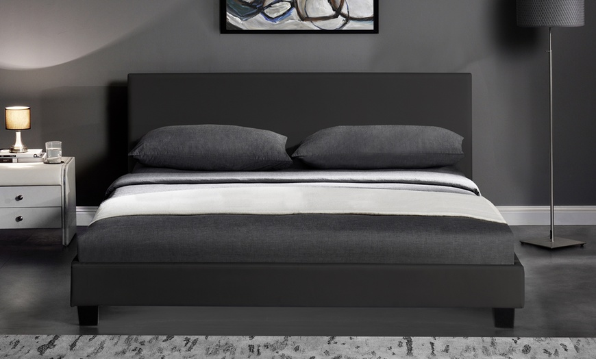Bed Frame with Optional Mattress