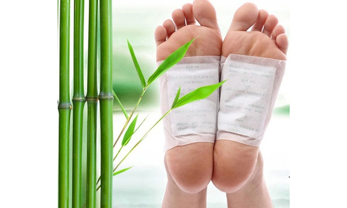 Goldrelax Japanese Bamboo-Vinegar Foot Detox Patches: One or Two 10-Count Packs of Goldrelax Japanese Foot Detox Patches from $7.99-$13.99