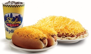 Skyline Chili: $9 for Three Visits, Each Good for $5 at Skyline Chili ($15 Total Value)