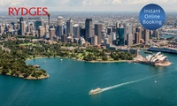 North Sydney: 1 to 3 Nights for Two with F&B Credit, Wine, Parking and Late Checkout at Rydges North Sydney