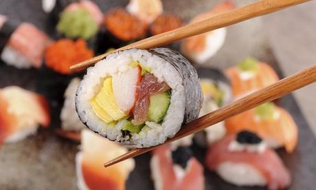 3-Gänge-Sushi-Menü für zwei Personen von Mo. bis Do oder von Fr. bis Sa. bei Sushi Live (bis zu 42% sparen*)