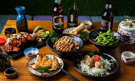 Japanese Tapas with Beer or Sake for Two $39 or Four People $78 at Japanese Mamas Kitchen Up to $145.80 Value