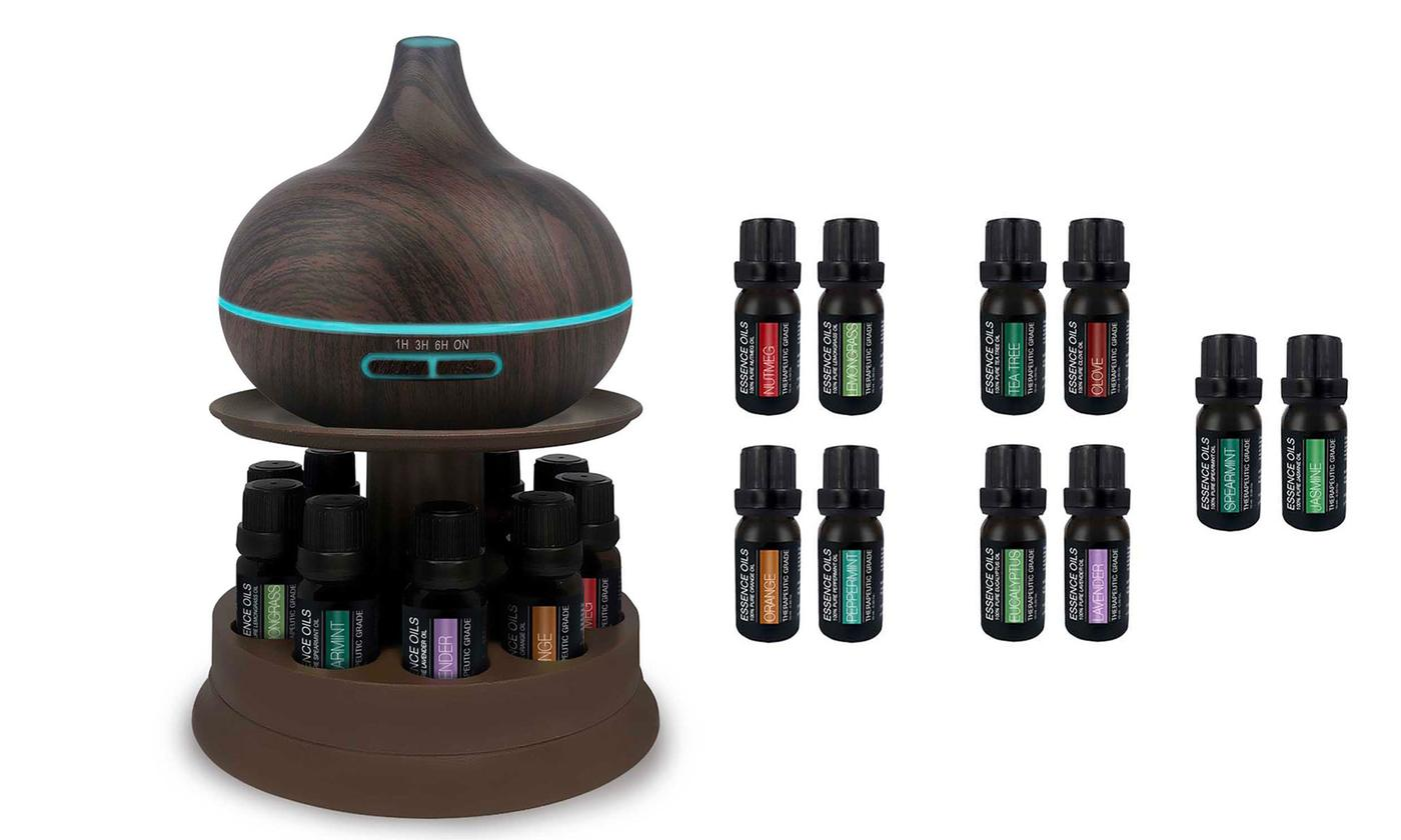 12-Piece Pure Daily Care Ultrasonic Diffuser Set