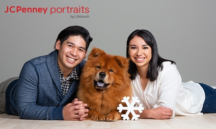 groupon.com - Family & Pet Photo Session at JCPenney Portraits (Up to 86% Off). Four Options Available.