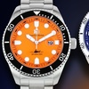 Buech and Boilat Mako Men's Diver Watch