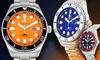 Buech and Boilat Mako Men's Diver Watch: Buech and Boilat Mako Men's Diver Watch