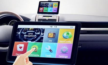 Navigatiesysteem met 7 inch touchscreen en kaarten van 36 landen