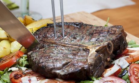 Menú para 2 o 4 personas con entrante, principal y bebida desde 24,95 € en El Merendero de Anzó