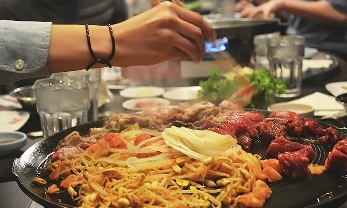 Honey Pig Gooldaegee Korean Grill - Multiple Locations: Korean Barbecue on Weekdays or Any Day at Honey Pig Gooldaegee Korean Grill (Up to 42% Off). Four Locations.