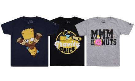 Simpsons Official Kids T-shirt