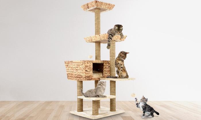 arbre chat groupon. Black Bedroom Furniture Sets. Home Design Ideas